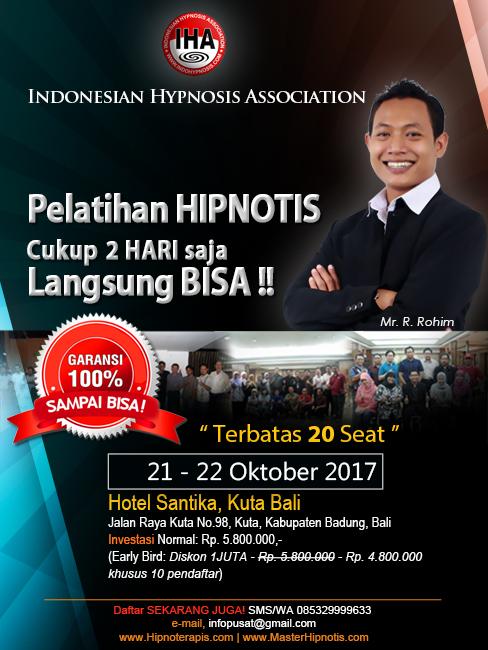 pelatihan-hipnotis-hipnoterapi-kuta-denpasar-bali-oktober-2017-master-rohim-IHA-indonesian-hypnosis-association