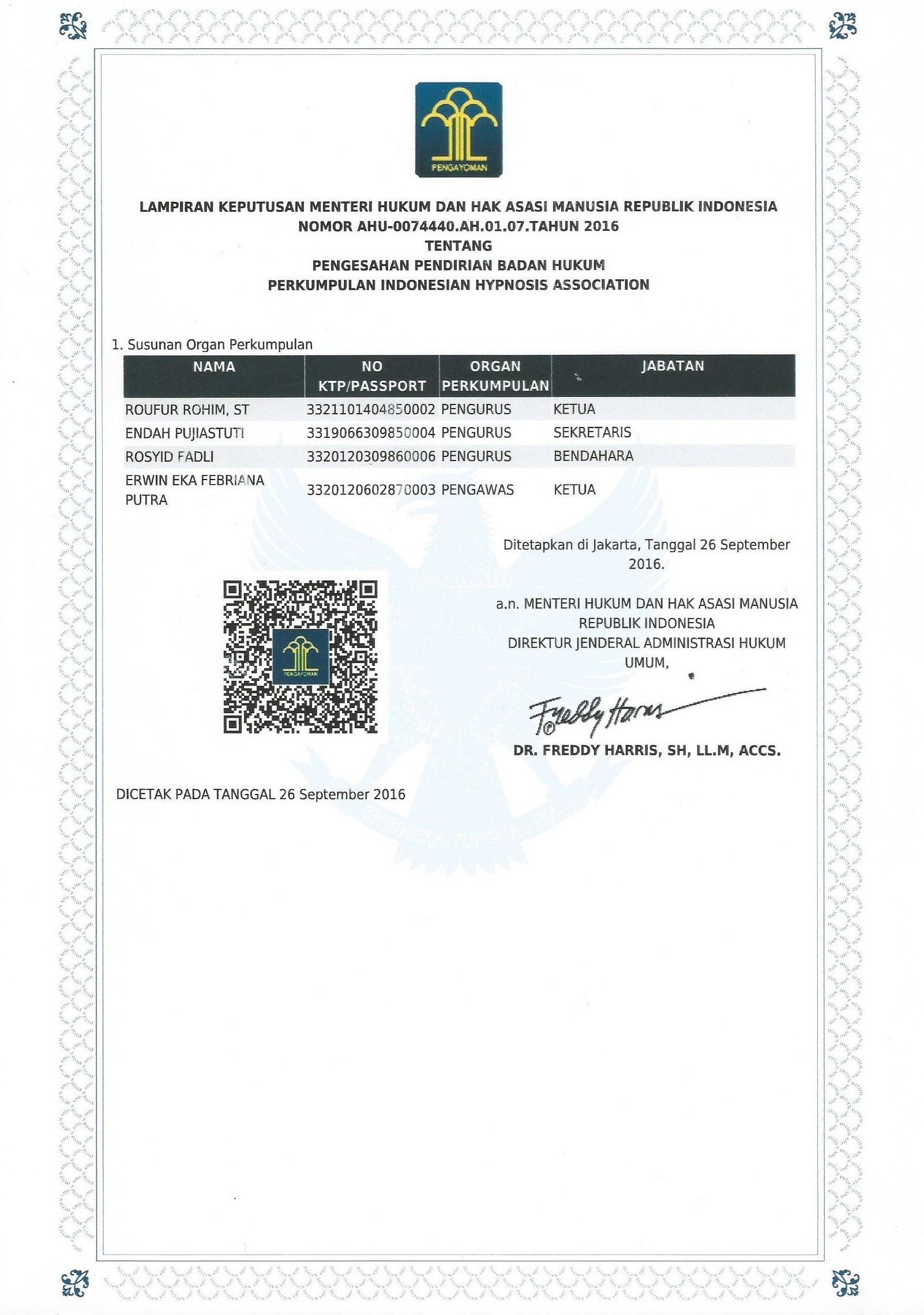 Lembaga Pelatihan Hipnoterapi Bersertifikat Resmi