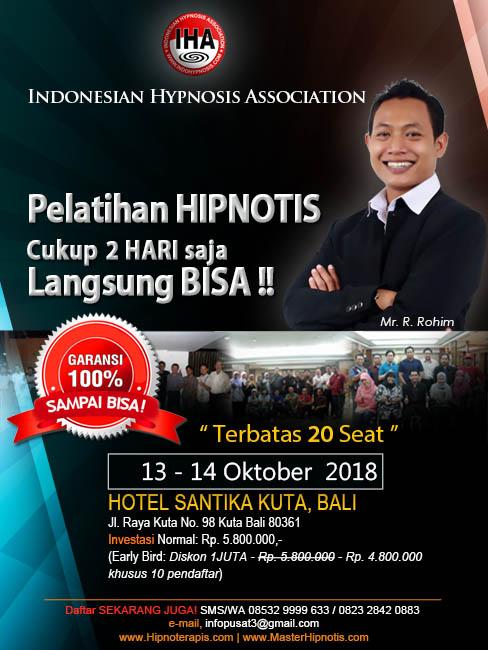 pelatihan-hipnotis-hipnoterapi-kuta-denpasar-bali-master-rohim-IHA-indonesian-hypnosis-association