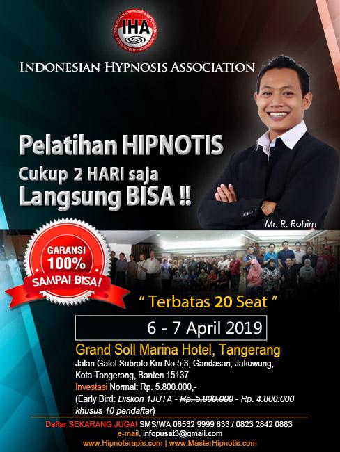 pelatihan-hipnotis-hipnoterapi-tangerang-banten-master-rohim-IHA-indonesian-hypnosis-association