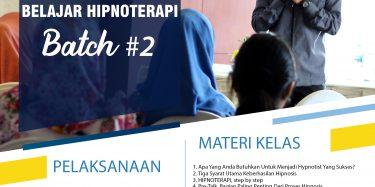 pelatihan hipnotis dan hipnoterapi